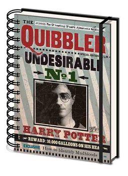 Bloco de notas Harry Potter - Quibbler