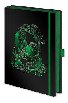 Bloco de notas Harry Potter - Slytherin Foil