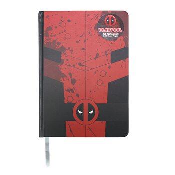 Bloco de notas Marvel - Deadpool