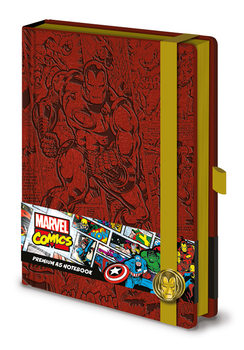 Bloco de notas Marvel - Iron Man A5 Premium