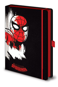Bloco de notas Marvel Retro - Spider-Man Mono Premium