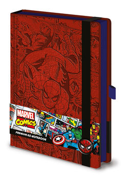 Bloco de notas Marvel  Spider-Man A5 Premium