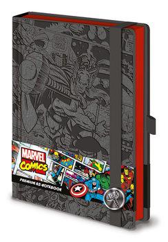 Bloco de notas Marvel  Thor A5 Premium