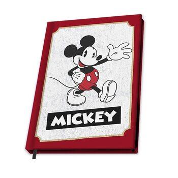 Bloco de notas Mickey Mouse