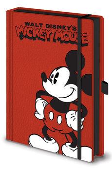 Bloco de notas Mickey Mouse - Pose