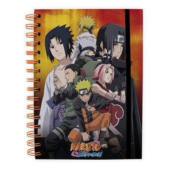Bloco de notas Naruto Shippuden - Kohona group
