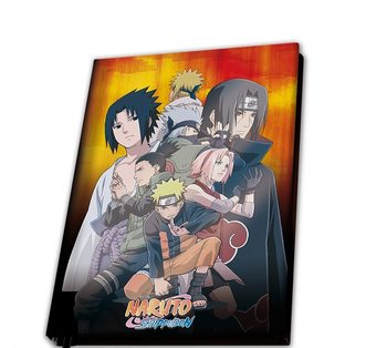 Bloco de notas Naruto Shippuden - Konoha Group