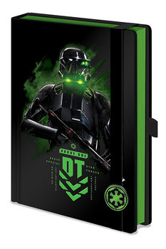 Bloco de notas Rogue One: Star Wars Story - Death Trooper A5 Premium