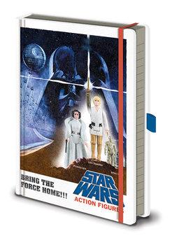 Bloco de notas Star Wars - Action Figures