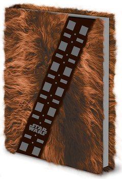 Bloco de notas Star Wars - Chewbacca Fur Premium A5