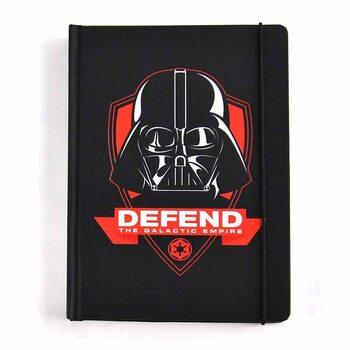Bloco de notas Star Wars - Darth Vader