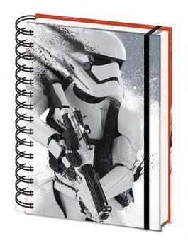 Bloco de notas Star Wars Episode VII: The Force Awakens - Stormtrooper Paint A5