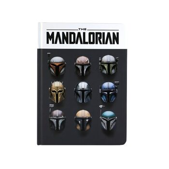 Bloco de notas Star Wars: The Mandalorian