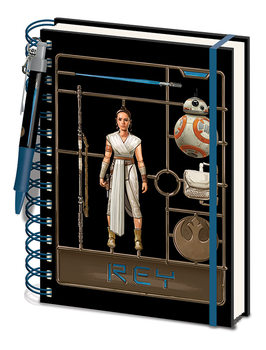 Bloco de notas Star Wars: The Rise Of Skywalker - Airfix Rey