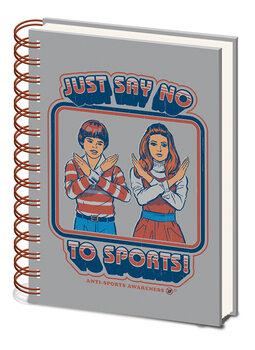 Bloco de notas Steven Rhodes - Say No to Sports