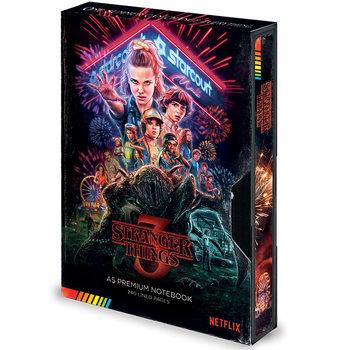 Bloco de notas Stranger Things – Season 3 VHS