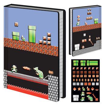 Bloco de notas Super Mario Bros - Level Builder