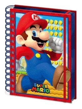 Bloco de notas Super Mario - Mario