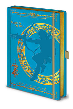 Bloco de notas The Legend Of Zelda - Breath Of The Wild