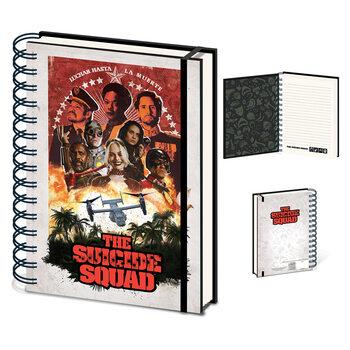 Bloco de notas The Suicide Squad (Jungle)