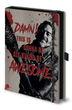 Bloco de notas The Walking Dead - Negan & Lucile