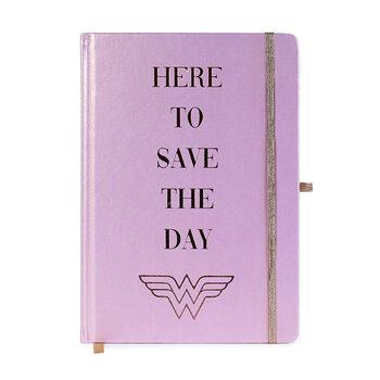 Bloco de notas Wonder Woman - Social