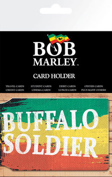 Bolsa para cartões BOB MARLEY - buffalo soldier