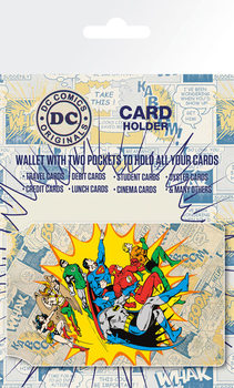 Bolsa para cartões  DC Comics - Heroes and Villians