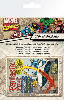Bolsa para cartões  MARVEL - fantastic four