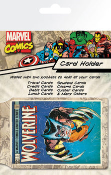 Bolsa para cartões  MARVEL - wolverine