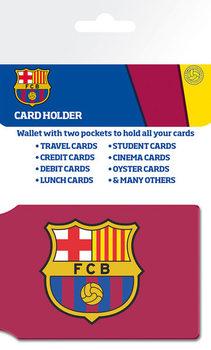 Bolsa para cartões FC BARCELONA - crest