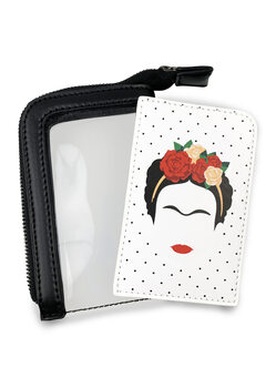 Porta-cartões Frida Kahlo - Minimalist
