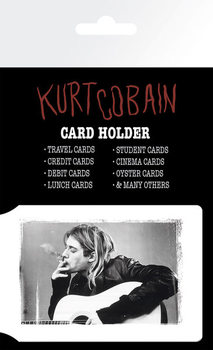 Bolsa para cartões KURT COBAIN - smoking