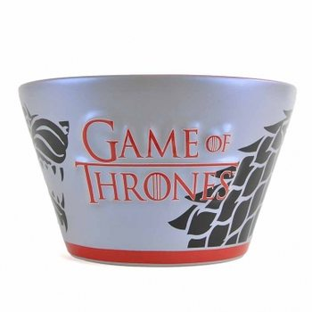 Bowl Game of Thrones - Stark Reflection Decal Dishes