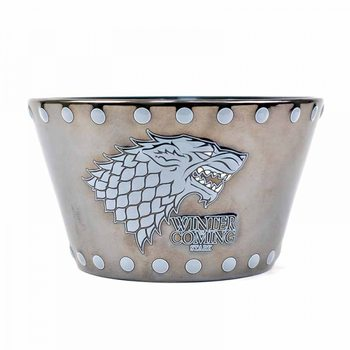 Bowl Game of Thrones - Stark & Stud Relief Dishes