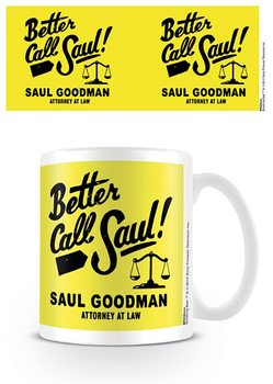 Cup Breaking Bad - Better Call Saul Logo