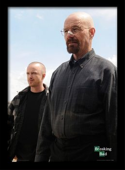 BREAKING BAD - walter & jesse plastic frame