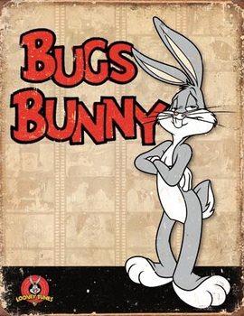 Bugs Bunny - Retro Panels Panneau Mural