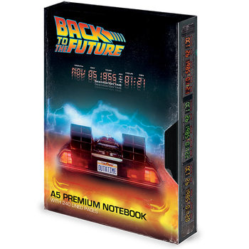 Caderno Back to the Future - Great Scott VHS