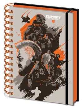 Caderno Call Of Duty - Black Ops 4