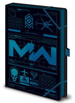 Caderno Call Of Duty: Modern Warfare - Icons