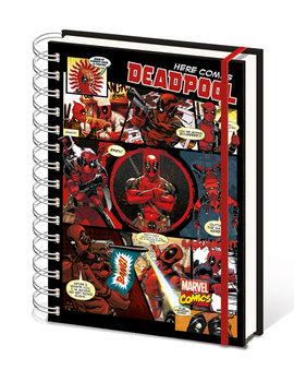 Caderno Deadpool