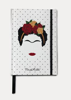 Caderno Frida Kahlo - Minimalist Head