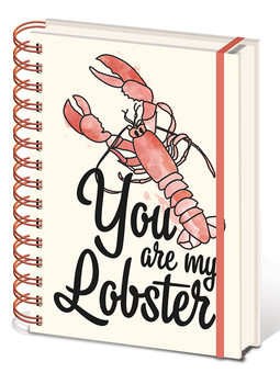 Caderno Friends - You are my Lobster