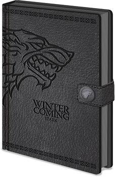 Caderno Game Of Thrones - (Stark) Clasp Premium