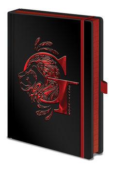 Caderno Harry Potter - Gryffindor Foil