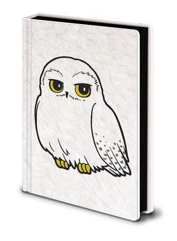 Caderno Harry Potter - Hedwig Fluffy