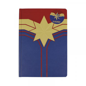 Caderno Marvel - Captain Marvel