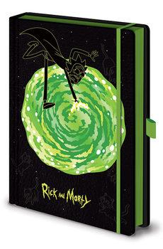 Caderno Rick and Morty - Portals