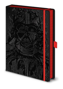 Caderno Star War - Vader Art